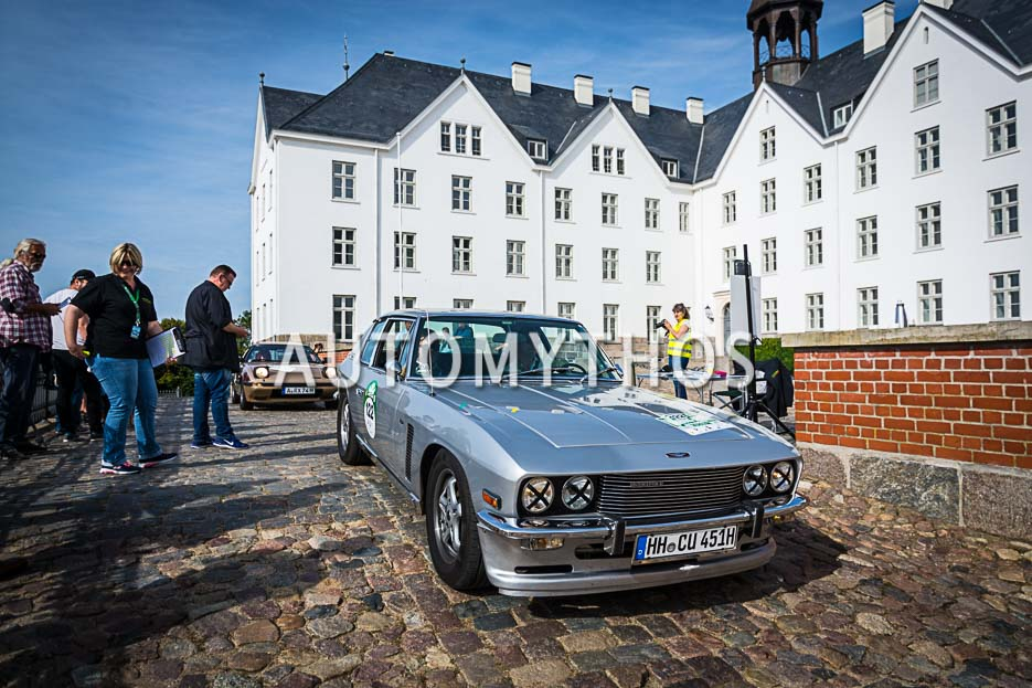 Automythos | 10. Hamburg Berlin Klassik 2017 | 122 | Pablo Bach & Toni Schulz | Jensen Interceptor Mk II