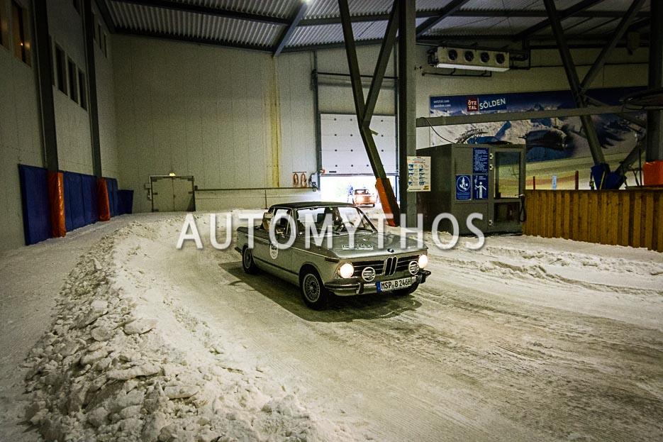 Automythos | 10. Hamburg Berlin Klassik 2017 | 125 | Karlheinz Schott & Anna Schott | BMW 2002 Baur Cabriolet