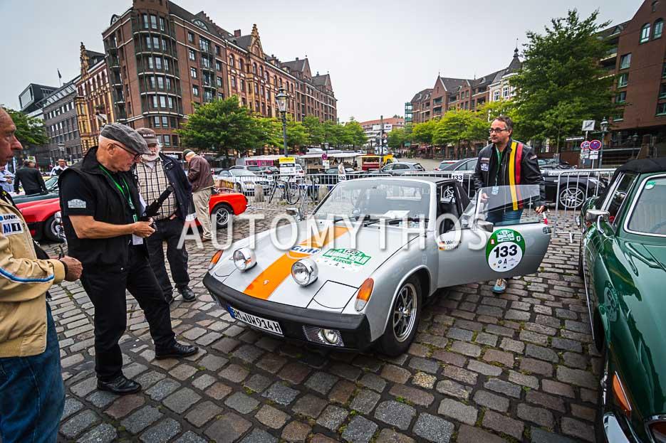 Automythos | 10. Hamburg Berlin Klassik 2017 | 133 | Dr. Urban Wefers & Arthur Oster | Porsche 914/6