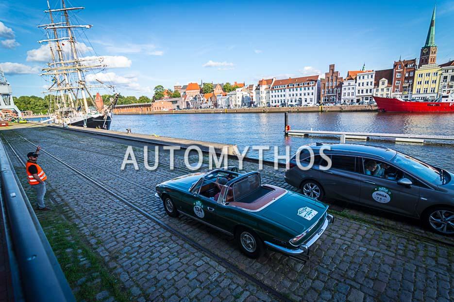 Automythos | 10. Hamburg Berlin Klassik 2017 | 134 | Dr. Johann Strandborg & Heiko Baumfalk | Triumph Stag