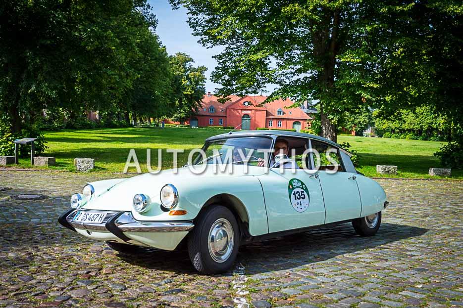 Automythos | 10. Hamburg Berlin Klassik 2017 | 135 | Georg Thiel & Philipp Oelbermann | Citroën ID 19
