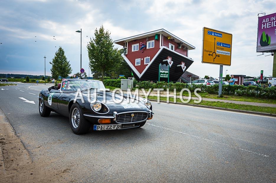 Automythos | 10. Hamburg Berlin Klassik 2017 | 139 | Kai Eckert & Kirsten Harnisch-Eckert | Jaguar E-Type Series 3