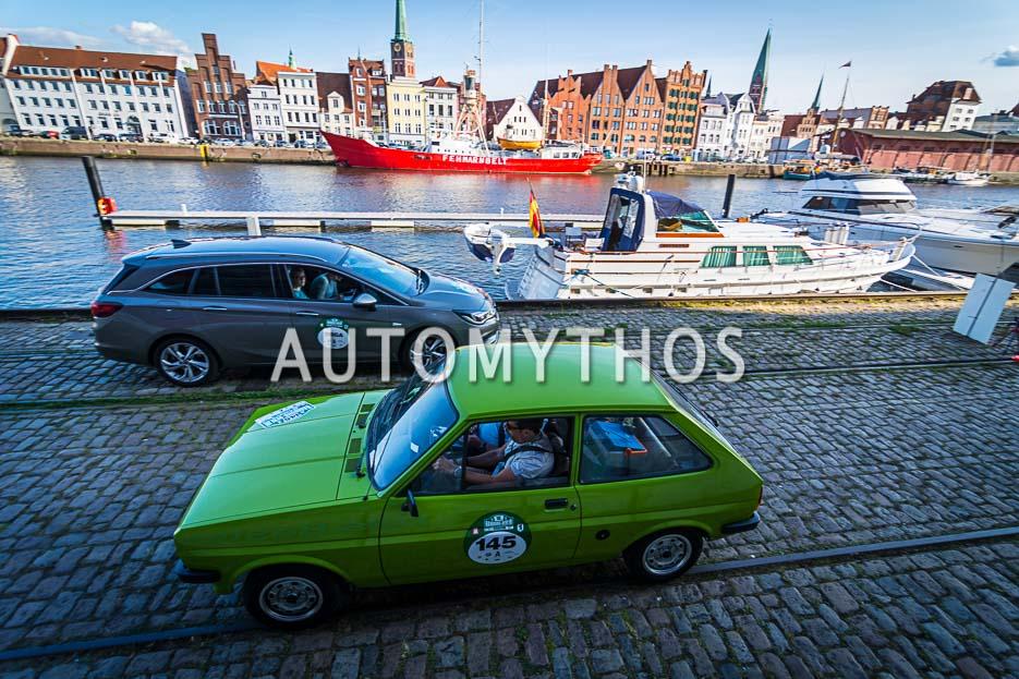 Automythos | 10. Hamburg Berlin Klassik 2017 | 145 | Hartwig Petersen & Malte Tom Büttner | Ford Fiesta MK1