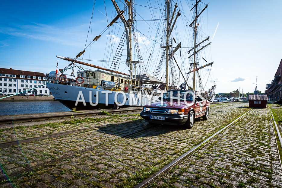 Automythos | 10. Hamburg Berlin Klassik 2017 | 147 | Dirk Kolfhaus & Rudolf Blum | Saab 900 Turbo