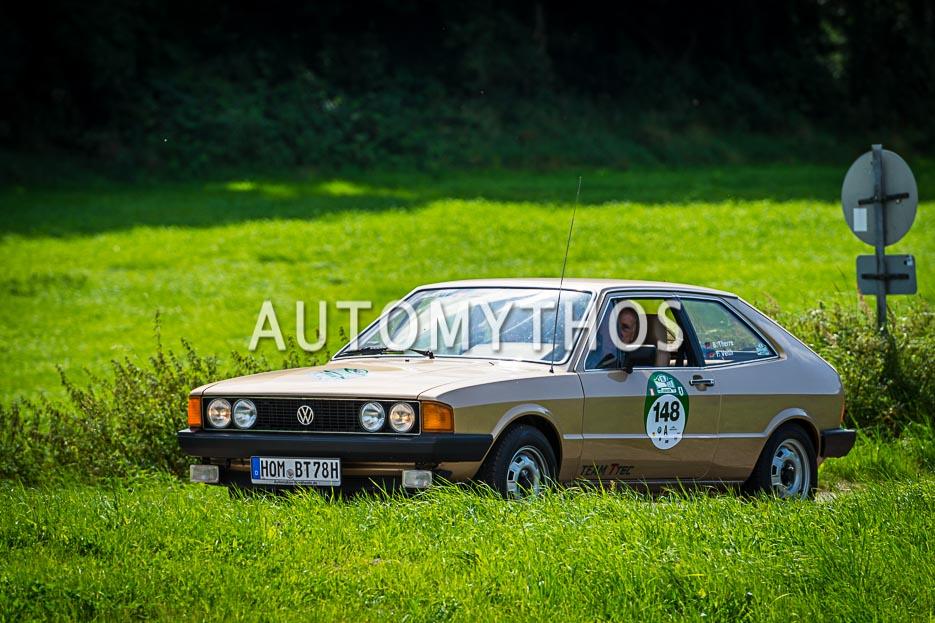 Automythos | 10. Hamburg Berlin Klassik 2017 | 148 | Bernd Therre & Tamara Veith | Volkswagen Scirocco I