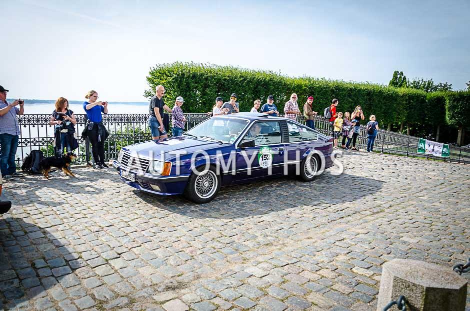 Automythos | 10. Hamburg Berlin Klassik 2017 | 152 | Hans-Joachim Seifert & Elke Seifert | Opel Monza A1
