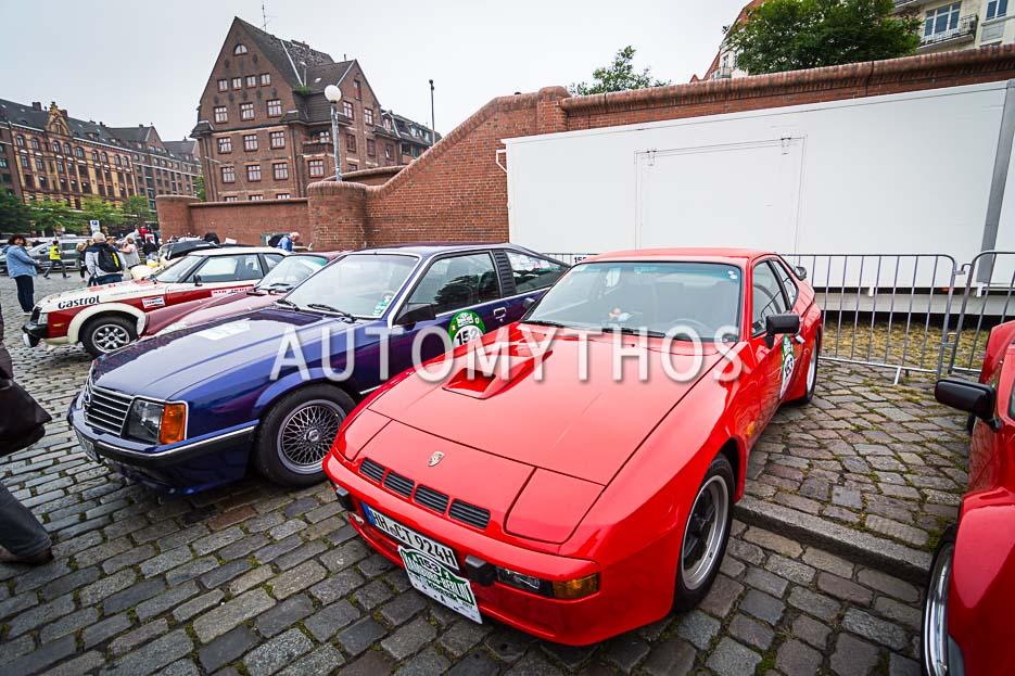 Automythos | 10. Hamburg Berlin Klassik 2017 | 153 | Michael Rasch & Nina Rasch | Porsche 924 Carrera GT
