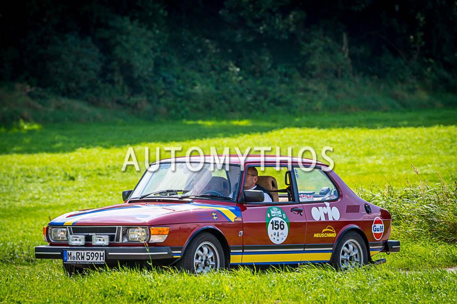 Automythos | 10. Hamburg Berlin Klassik 2017 | 156 | Robert Wagenheimer & Gerd Wagenheimer | Saab 99