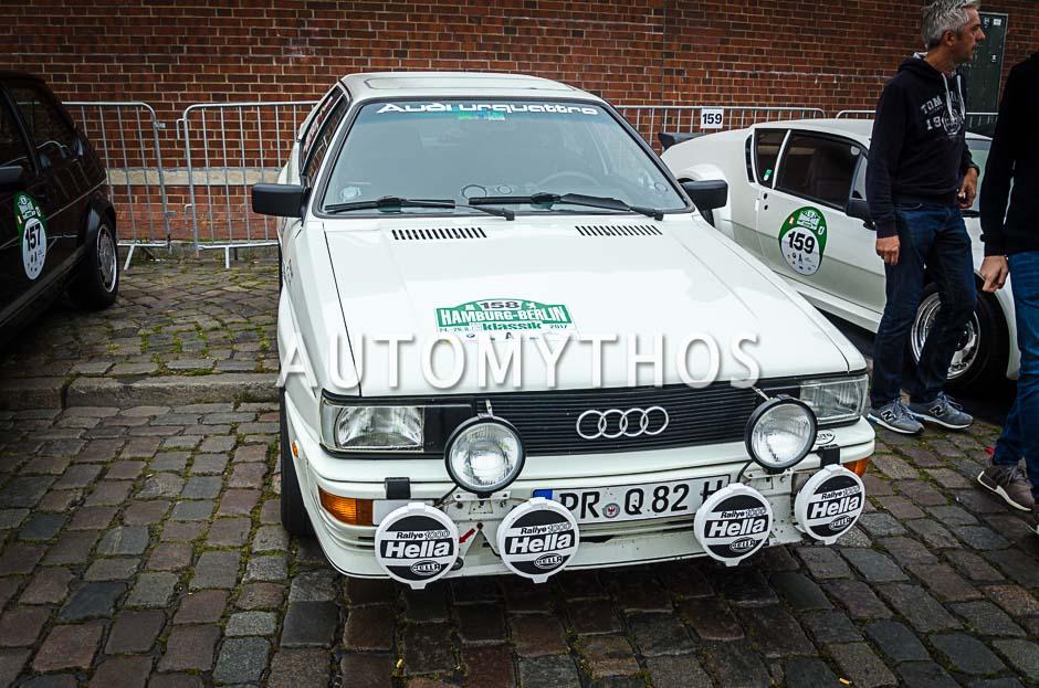 Automythos | 10. Hamburg Berlin Klassik 2017 | 158 | Dietmar Gornig & Ulrike Gornig | Audi quattro