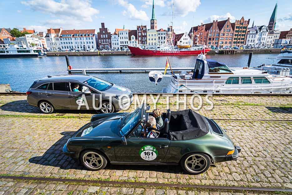 Automythos | 10. Hamburg Berlin Klassik 2017 | 161 | Dr. Uwe Dreyer & Daniela Dreyer | Porsche 911 Carrera Cabriolet