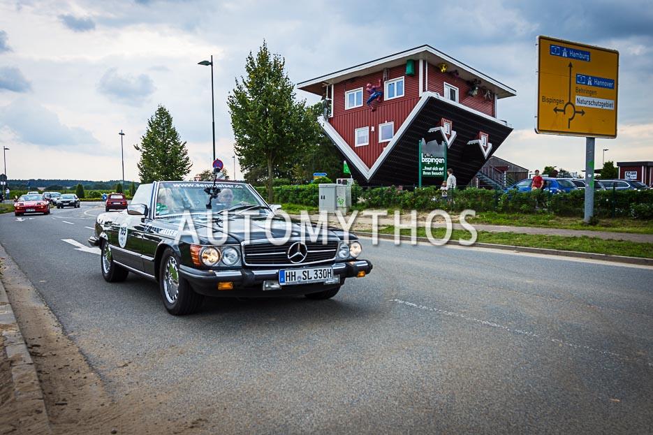 Automythos | 10. Hamburg Berlin Klassik 2017 | 165 | Stefan Grewe & Hilke Hildebrandt | Mercedes-Benz 380 SL