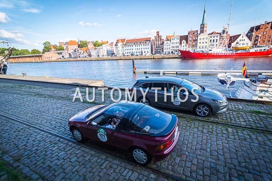 Automythos | 10. Hamburg Berlin Klassik 2017 | 171 | Hans Joachim Prykop & Dr. Catja Prykop | Toyota Sera
