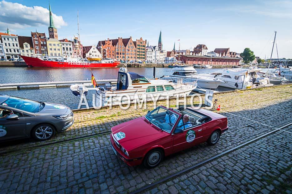 Automythos | 10. Hamburg Berlin Klassik 2017 | 174 | Dr. Klaus Friesen & Günter Alajmo | Maserati Biturbo Spyder