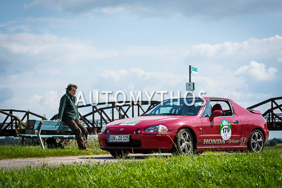Automythos | 10. Hamburg Berlin Klassik 2017 | 179 | Jürgen Zobel & Helga Zorn | Honda CRX del Sol
