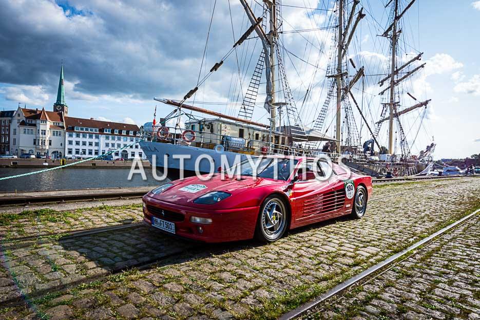 Automythos | 10. Hamburg Berlin Klassik 2017 | 180 | Bernd Hendrik Hütter & Nicola Christina Hütter | Ferrari F 110 LB