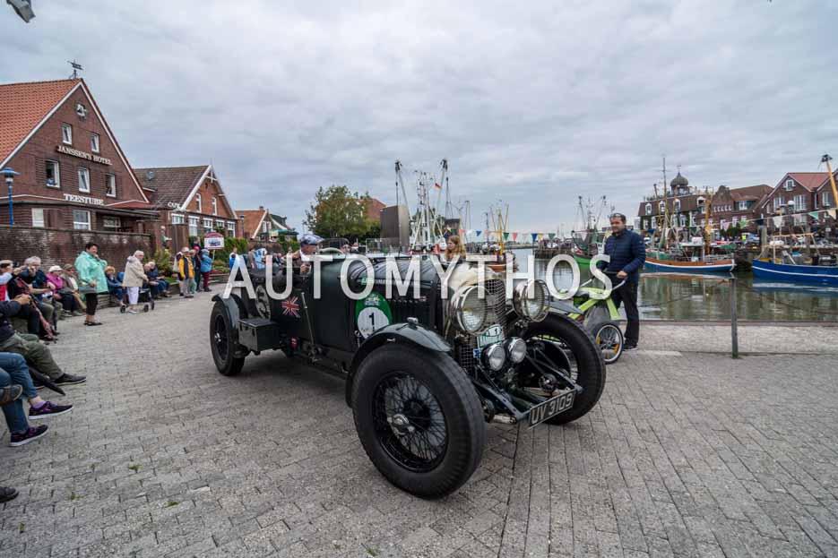 Automythos | 11. Hamburg Berlin Klassik 2018 | 1 | Ewald Sprey & Gabi Sprey | Bentley 4½ Litre Le Mans