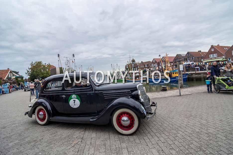 Automythos | 11. Hamburg Berlin Klassik 2018 | 7 | Friedemann Matthieu & Bernd Budi | Ford V8