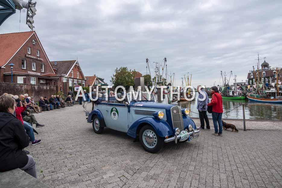 Automythos | 11. Hamburg Berlin Klassik 2018 | 10 | Christian Köppen & Gabriele Köppen | Opel Super 6 Cabriolet