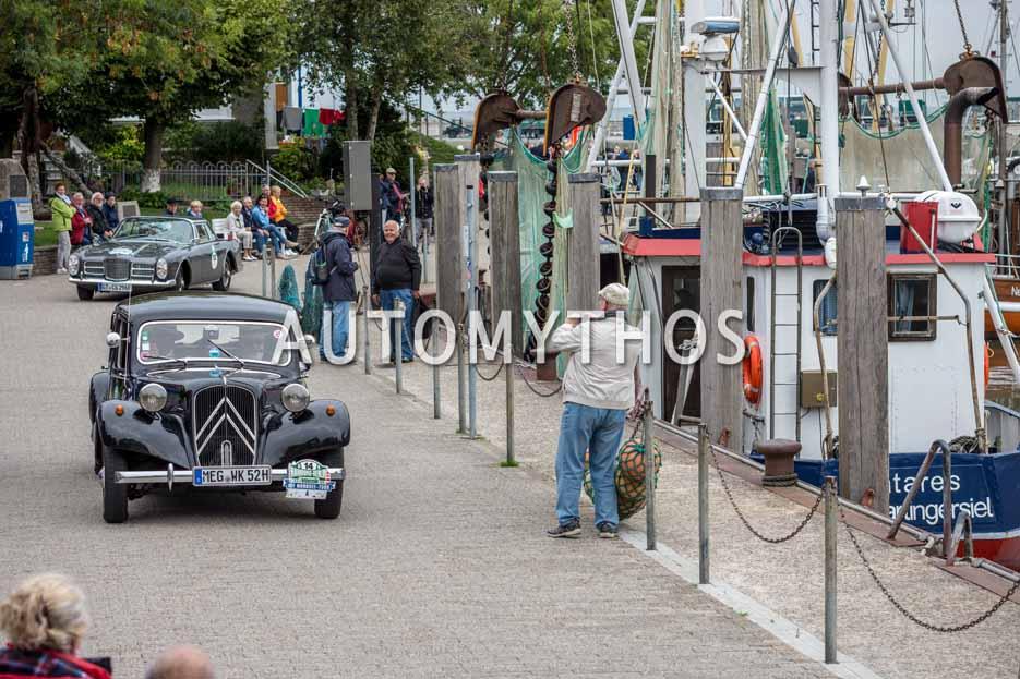 Automythos | 11. Hamburg Berlin Klassik 2018 | 14 | Wolfgang Kerst & Norbert Hellmer | Citroën 11 B Koffermodell