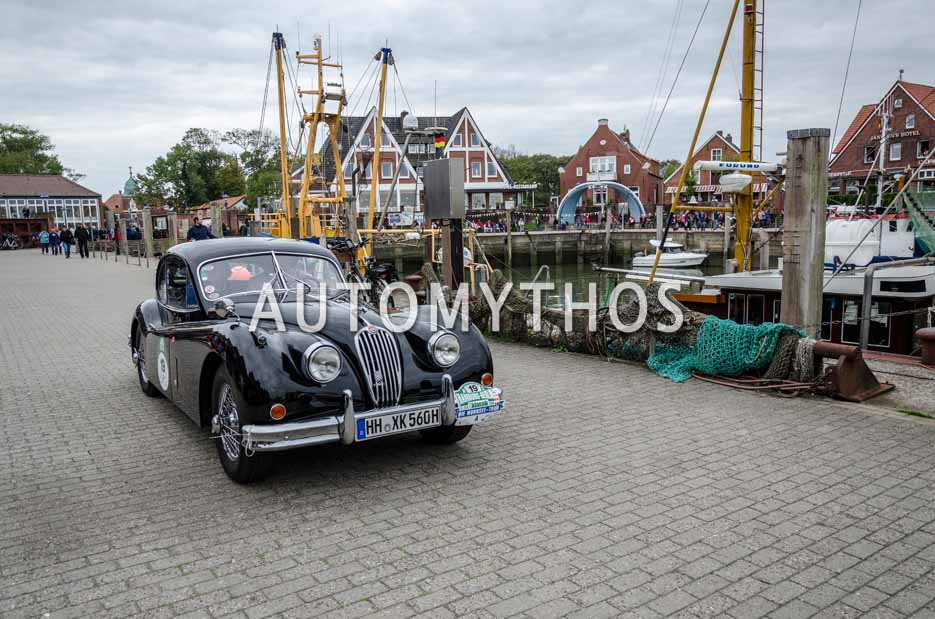 Automythos | 11. Hamburg Berlin Klassik 2018 | 19 | Pieter Wasmuth & Andrea Wasmuth | Jaguar XK 140 FHC