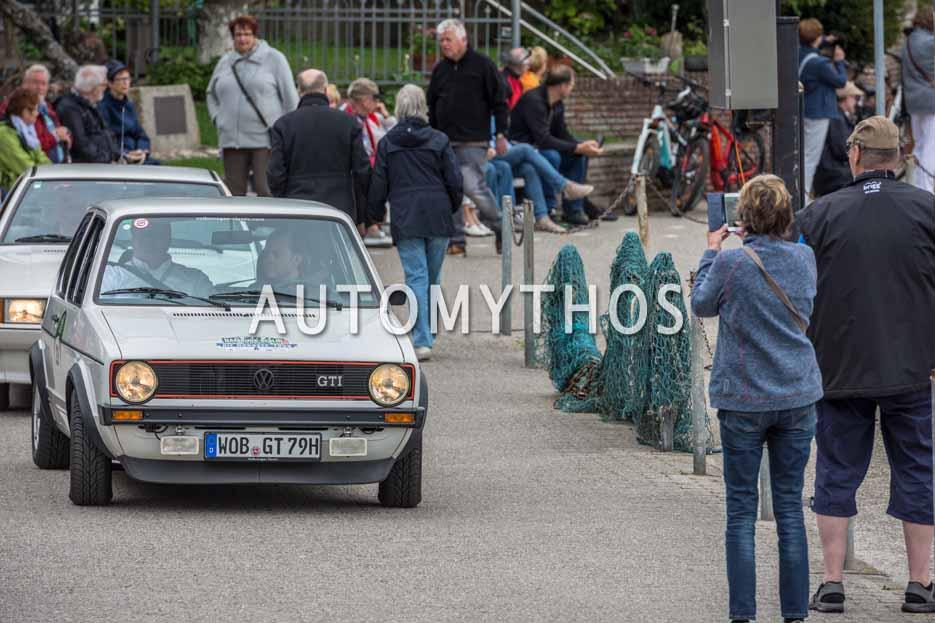 Automythos | 11. Hamburg Berlin Klassik 2018 | 28 | Sascha Neumann & Alexander Voigt | Volkswagen Golf I GTI