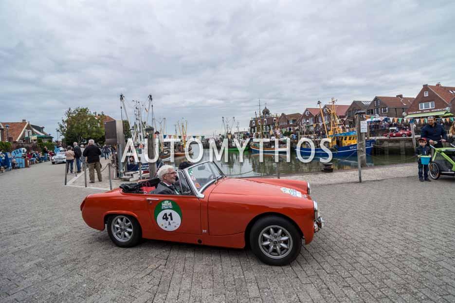 Automythos | 11. Hamburg Berlin Klassik 2018 | 41 | Andreas Seithe & Bernd Wegner | Austin-Healey Sprite Mk IV