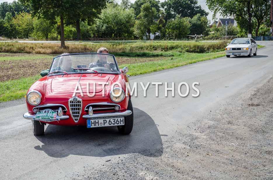 Automythos | 11. Hamburg Berlin Klassik 2018 | 45 | Michael Pitsch & Malte Klarczyk | Alfa Romeo Giulietta Spider