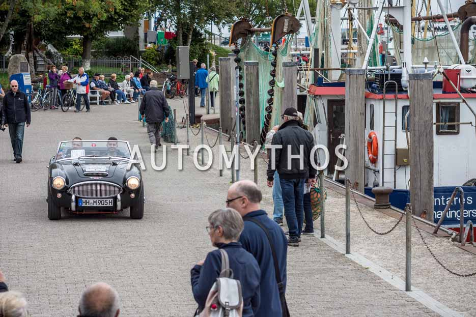 Automythos | 11. Hamburg Berlin Klassik 2018 | 56 | Hamid Mossadegh & Peter Fiekens | Austin-Healey 3000 Mk II