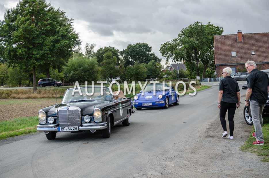 Automythos | 11. Hamburg Berlin Klassik 2018 | 59 | Boris Lahrkamp & Andre Artmann | Mercedes-Benz 220 SEb Cabriolet