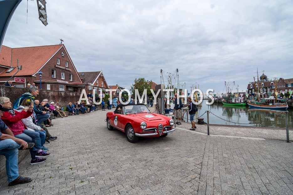 Automythos | 11. Hamburg Berlin Klassik 2018 | 76 | Joern Rompel & Maren Hoffmann | Alfa Romeo Spider 1600