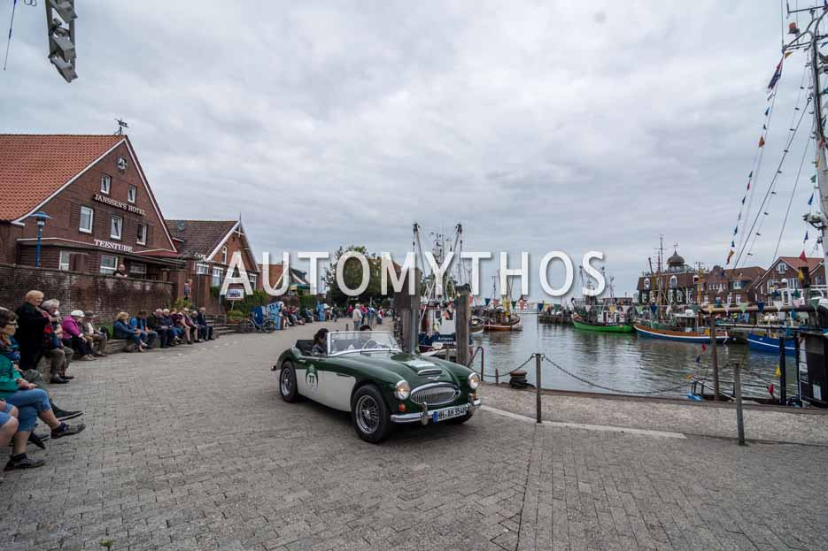 Automythos | 11. Hamburg Berlin Klassik 2018 | 77 | Adrian Heinrich & Tamara Kehrbach | Austin-Healey 3000 Mk III