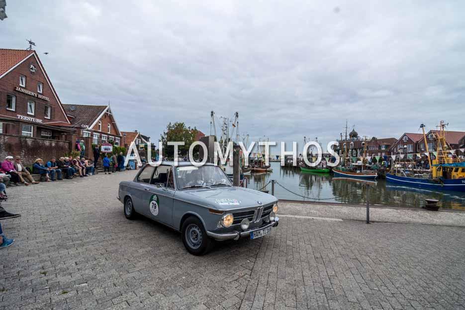 Automythos | 11. Hamburg Berlin Klassik 2018 | 79 | Heinz-Jürgen Grewe & Jutta Franken | BMW 1600-2 ti