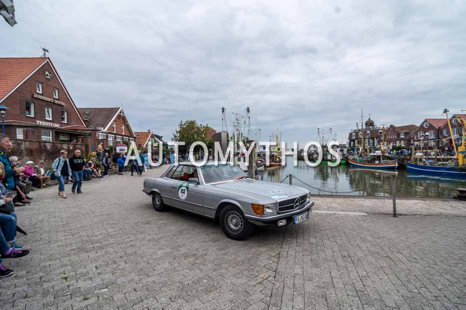 Automythos | 11. Hamburg Berlin Klassik 2018 | 82 | Heino Landsberg & Dagmar Landsberg | Mercedes-Benz 450 SLC