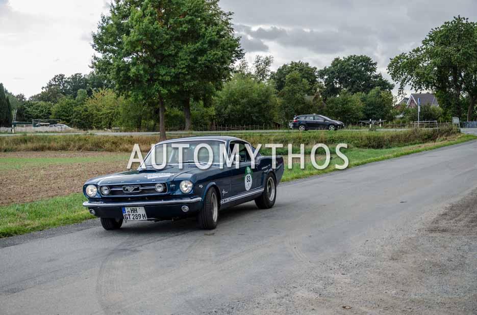 Automythos | 11. Hamburg Berlin Klassik 2018 | 83 | Sven Ehrenbrand & Britta Plümke | Ford Mustang GT Fastback