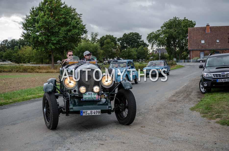 Automythos | 11. Hamburg Berlin Klassik 2018 | 84 | Dr. Ludger Hellenthal & Maximilian Wigbert Becker | Bentley Open Tourer