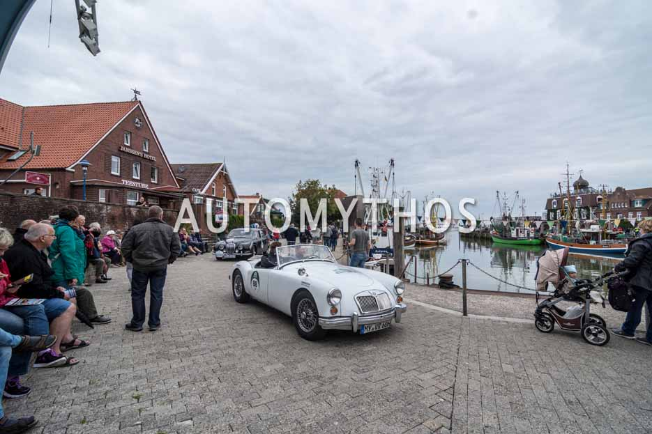 Automythos   11. Hamburg Berlin Klassik 2018   88   Marc Philippzik & Carsten Juhnke   MG MGA 1600