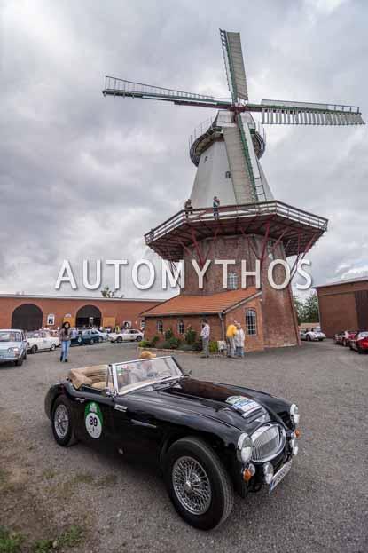 Automythos | 11. Hamburg Berlin Klassik 2018 | 89 | Thomas Körpert & Martina Fahringer | Austin-Healey 3000 Mk III
