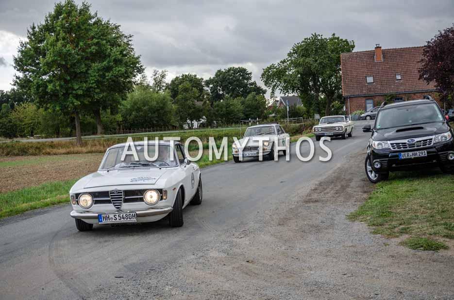 Automythos | 11. Hamburg Berlin Klassik 2018 | 92 | Jonas Schlüter & Stephan Schlüter | Alfa Romeo GT 1300 Junior