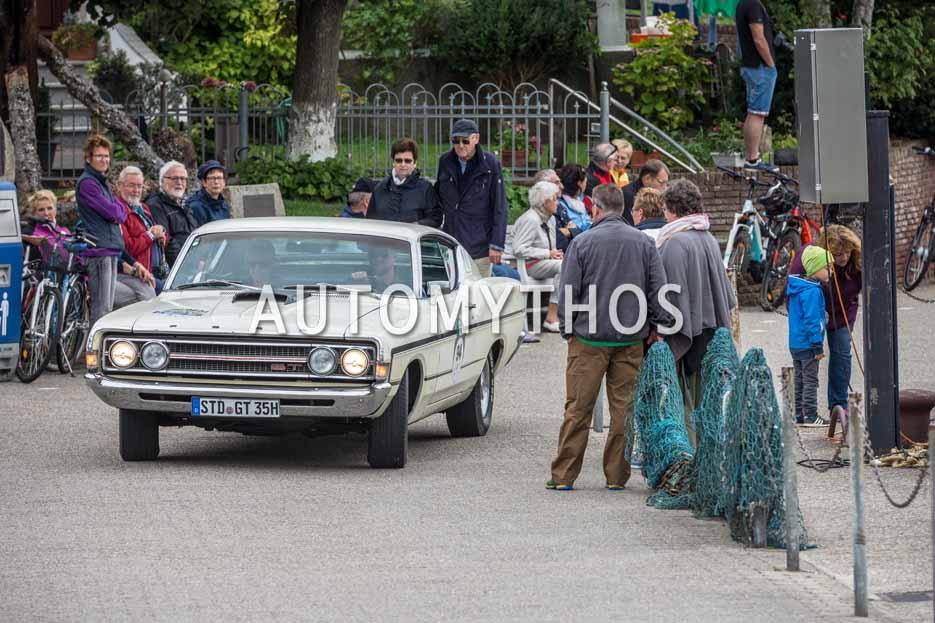 Automythos | 11. Hamburg Berlin Klassik 2018 | 94 | Sven Weide-Weddig & Grietje Weide-Weddig | Ford Torino GT