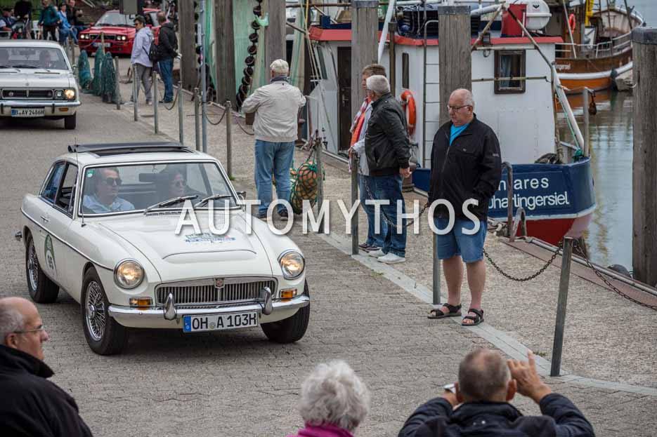 Automythos | 11. Hamburg Berlin Klassik 2018 | 95 | Anja Bechert & Sven Bechert | MG MGC GT