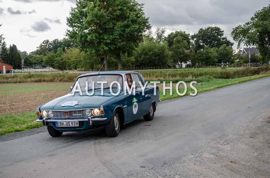 Automythos | 11. Hamburg Berlin Klassik 2018 | 96 | Rainer Staudt & Ursula Schmidt-Staudt | Rover 3500