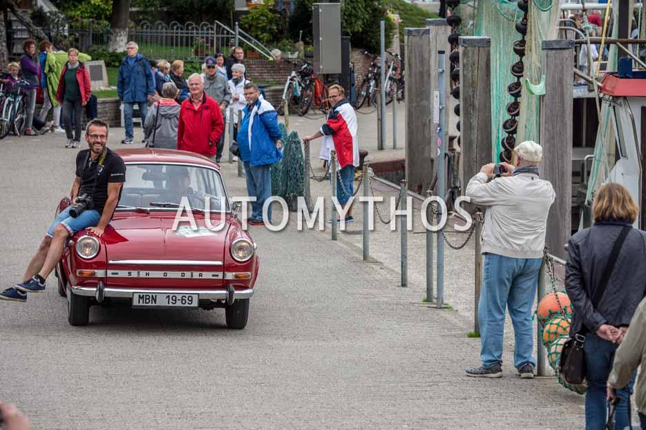 Automythos | 11. Hamburg Berlin Klassik 2018 | 97 | Jan Mička & Marie Ryklová | Skoda 1100 MBX de Luxe