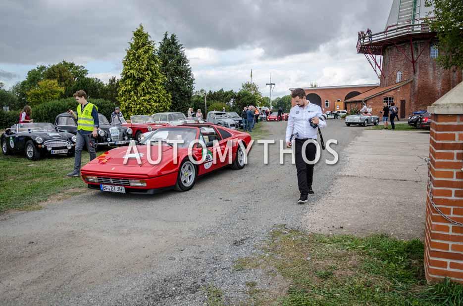 Automythos | 11. Hamburg Berlin Klassik 2018 | 98 | Dr. Daniel Tasch & Anton Tasch | Ferrari 328 GTS
