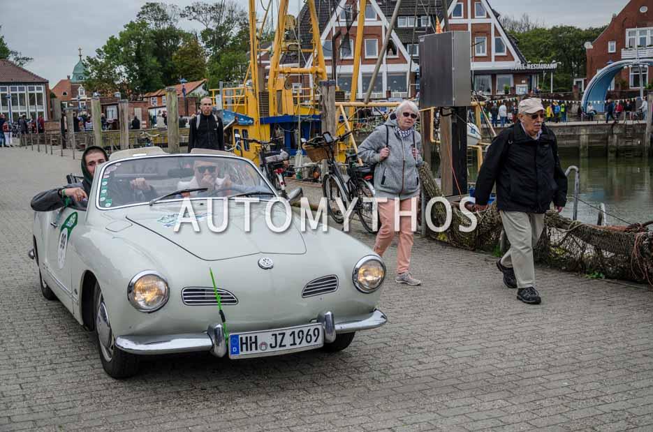 Automythos | 11. Hamburg Berlin Klassik 2018 | 99 | Joachim Zeunges & Frederik Zeunges | Volkswagen Karmann-Ghia Cabriolet