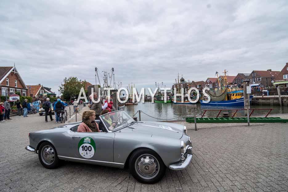 Automythos | 11. Hamburg Berlin Klassik 2018 | 100 | Manuela Schlüter & Sarah Schlüter | Alfa Romeo Giulietta Spider