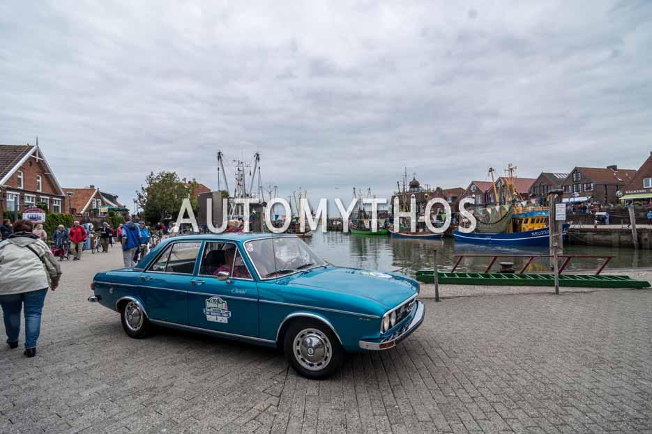 Automythos | 11. Hamburg Berlin Klassik 2018 | 108 | Willi Nientker & Christel Nientker | Audi 100 LS