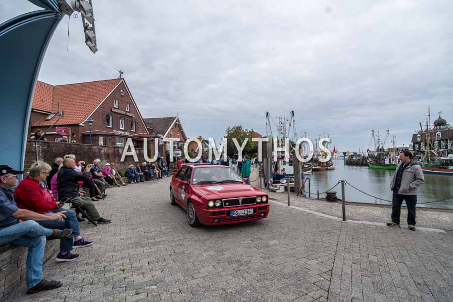 Automythos | 11. Hamburg Berlin Klassik 2018 | 109 | Kai Matthies & Sigi Matthies | Lancia Delta Integrale