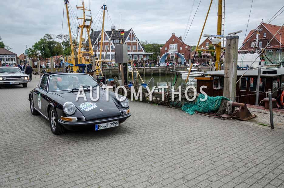 Automythos | 11. Hamburg Berlin Klassik 2018 | 115 | Dr. Johannes Holz & Alexa Isabel Holz | Porsche 911 T 2.2 Targa