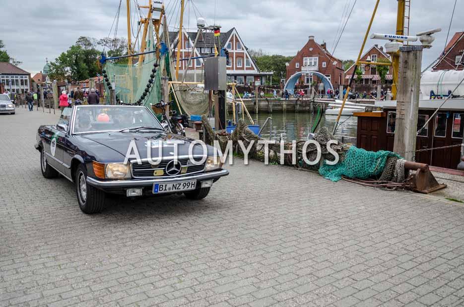 Automythos | 11. Hamburg Berlin Klassik 2018 | 119 | Michael Fredebeul & Susanne Krause | Mercedes-Benz 350 SL