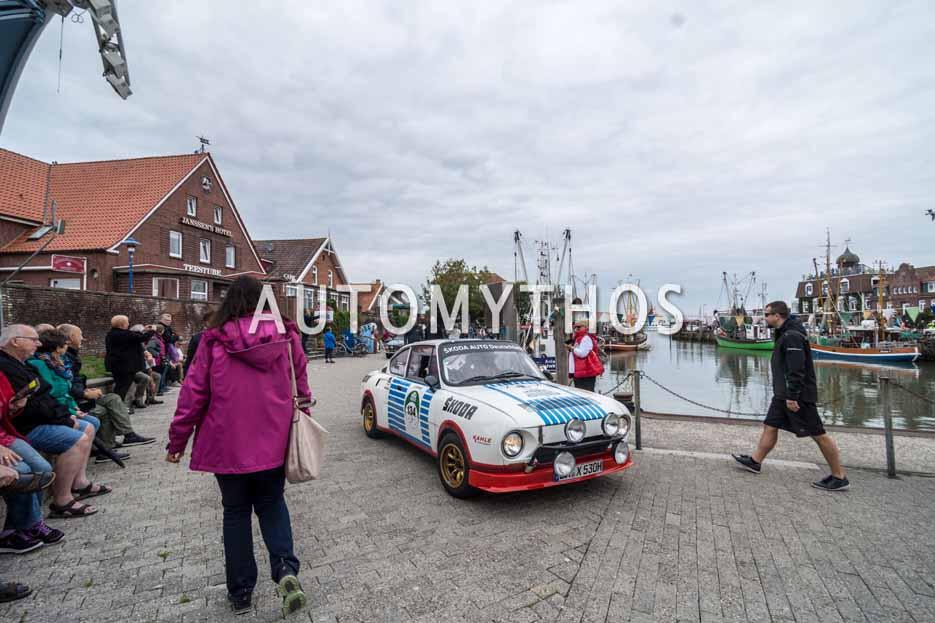 Automythos | 11. Hamburg Berlin Klassik 2018 | 134 | Ulrich Bethscheider-Kieser & Peter René Fischer | Skoda 130 RS